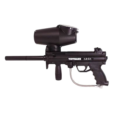 ... paintball marker, and a modestly priced one. Now, that is no longer